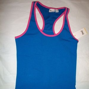 Everlast Sport Blue w Pink Trims Tank Top L